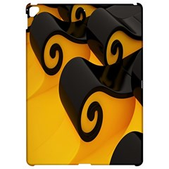 Black Yellow Apple iPad Pro 12.9   Hardshell Case