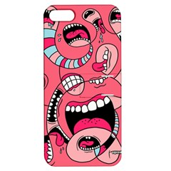 Big Mouth Worm Apple Iphone 5 Hardshell Case With Stand