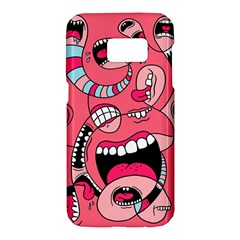 Big Mouth Worm Samsung Galaxy S7 Hardshell Case