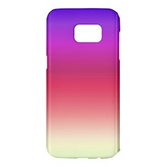 Blue Pink Purple Red Samsung Galaxy S7 Edge Hardshell Case