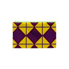 Complexion Purple Yellow Cosmetic Bag (xs)