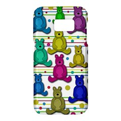 Teddy bear Samsung Galaxy S7 Hardshell Case
