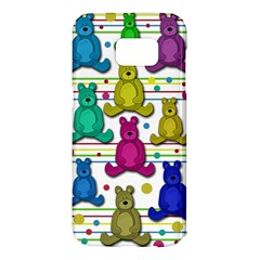 Teddy bear Samsung Galaxy S7 Edge Hardshell Case
