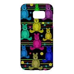 Teddy bear 2 Samsung Galaxy S7 Edge Hardshell Case