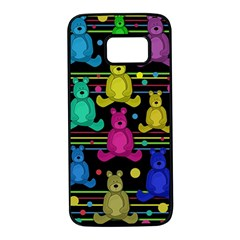 Teddy bear 2 Samsung Galaxy S7 Black Seamless Case