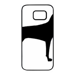 Vizsla Silo Black Samsung Galaxy S7 edge Black Seamless Case