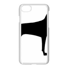 Vizsla Silo Black Apple iPhone 7 Seamless Case (White)
