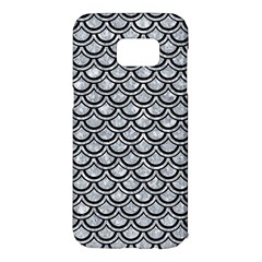 Scales2 Black Marble & Gray Marble (r) Samsung Galaxy S7 Edge Hardshell Case