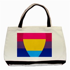 Panromantic Flags Love Basic Tote Bag (two Sides)