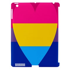 Panromantic Flags Love Apple iPad 3/4 Hardshell Case (Compatible with Smart Cover)
