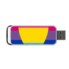 Panromantic Flags Love Portable USB Flash (Two Sides)