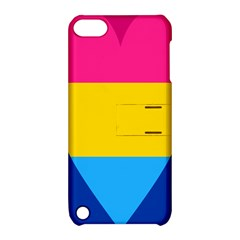 Panromantic Flags Love Apple iPod Touch 5 Hardshell Case with Stand