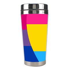 Panromantic Flags Love Stainless Steel Travel Tumblers