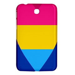 Panromantic Flags Love Samsung Galaxy Tab 3 (7 ) P3200 Hardshell Case