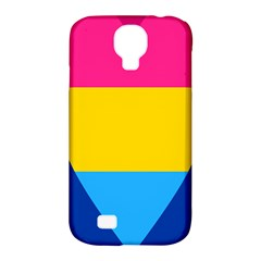 Panromantic Flags Love Samsung Galaxy S4 Classic Hardshell Case (PC+Silicone)