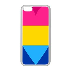 Panromantic Flags Love Apple iPhone 5C Seamless Case (White)