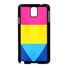 Panromantic Flags Love Samsung Galaxy Note 3 Neo Hardshell Case (Black)
