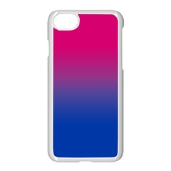 Pink Blue Purple Apple Iphone 7 Seamless Case (white)
