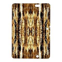 Beige Brown Back Wood Design Kindle Fire HDX 8.9  Hardshell Case
