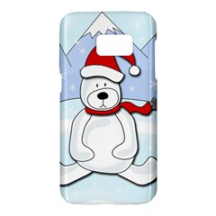 Polar bear Samsung Galaxy S7 Hardshell Case