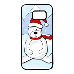 Polar bear Samsung Galaxy S7 Black Seamless Case