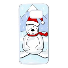 Polar bear Samsung Galaxy S7 White Seamless Case
