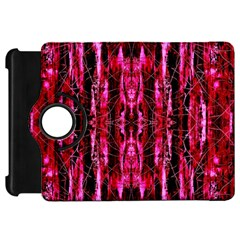 Pink Burgundy Traditional Pattern Kindle Fire HD 7