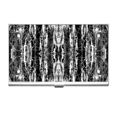 Black White Taditional Pattern  Business Card Holders