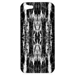 Black White Taditional Pattern  Apple iPhone 5 Hardshell Case