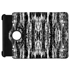 Black White Taditional Pattern  Kindle Fire HD 7