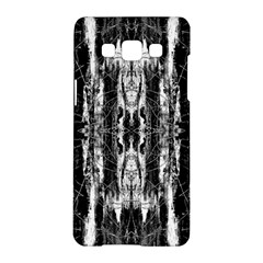 Black White Taditional Pattern  Samsung Galaxy A5 Hardshell Case