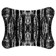 Black White Taditional Pattern  Jigsaw Puzzle Photo Stand (bow)