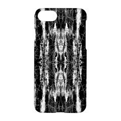 Black White Taditional Pattern  Apple Iphone 7 Hardshell Case