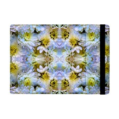 Blue Yellow Flower Girly Pattern, Ipad Mini 2 Flip Cases