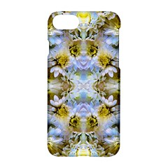 Blue Yellow Flower Girly Pattern, Apple Iphone 7 Hardshell Case