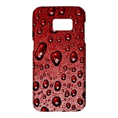 Red Water Samsung Galaxy S7 Hardshell Case