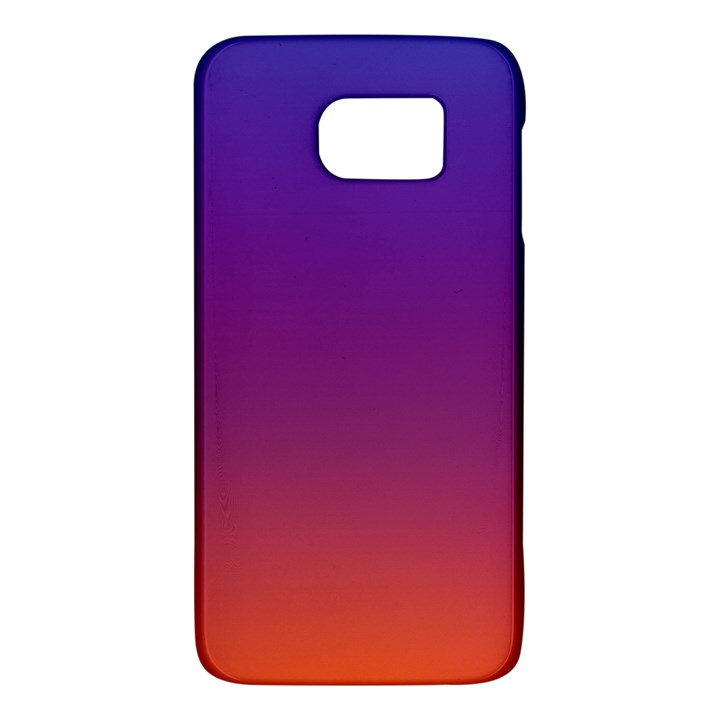 Purple Orange Blue Galaxy S6