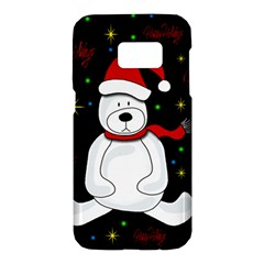 Polar bear - Xmas design Samsung Galaxy S7 Hardshell Case
