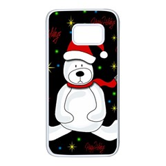 Polar bear - Xmas design Samsung Galaxy S7 White Seamless Case