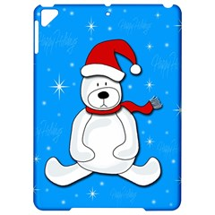 Polar bear - blue Apple iPad Pro 9.7   Hardshell Case