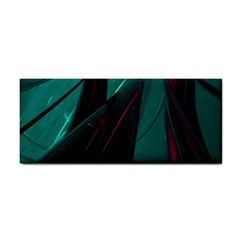Abstract Green Purple Cosmetic Storage Cases
