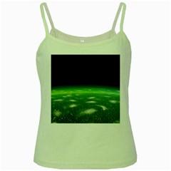 Alien Orbit Green Spaghetti Tank
