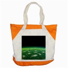 Alien Orbit Accent Tote Bag