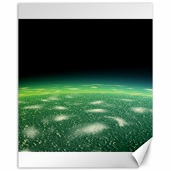 Alien Orbit Canvas 16  X 20