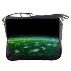 Alien Orbit Messenger Bags