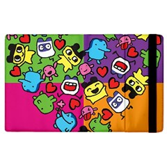 Cartoon Pattern Apple Ipad 3/4 Flip Case