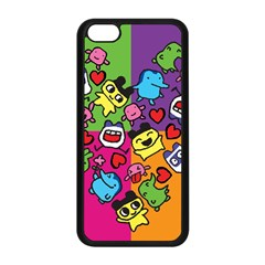 Cartoon Pattern Apple Iphone 5c Seamless Case (black)