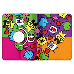 Cartoon Pattern Kindle Fire Hdx Flip 360 Case