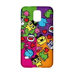 Cartoon Pattern Samsung Galaxy S5 Hardshell Case