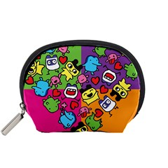 Cartoon Pattern Accessory Pouches (small)
